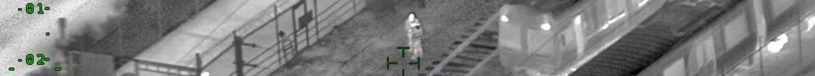 گشت زنی و پیدا نمودن افراد در طبیعت توسط دوربین حرارتی