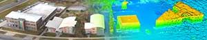 درست کردن مدل زمینی توسط تصویر برداری هوایی