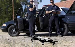 امنیت و کمک به پلیس توسط پهپاد