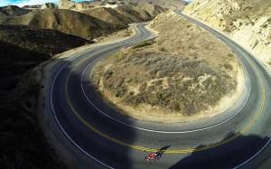 تصویر برداری هوایی از مسابقات ورزشی