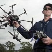تصویربرداری هوایی توسط پلیس