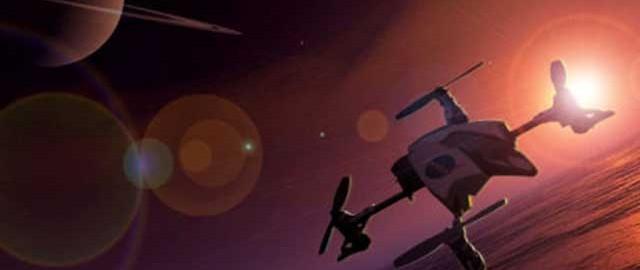 ارسال کوادکوپتر به سیاره زحل