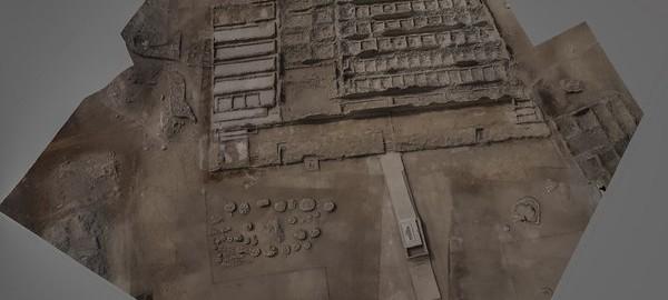 نقشه برداری هوایی توسط عمود پرواز از آثار باستانی