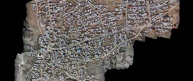 نقشه برداری هوایی کاداستر - تسریع در تهیه نقشه های کاداستر از طریق نقشه برداری هوایی توسط عمود پروازهای بدون سرنشین