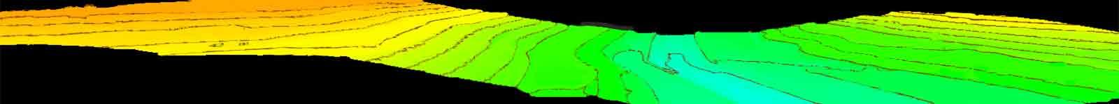 نقشه برداری هوایی توپوگرافی