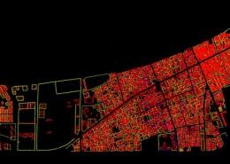 نقشه برداری هوایی نقشه کاداستر شهر کنارک